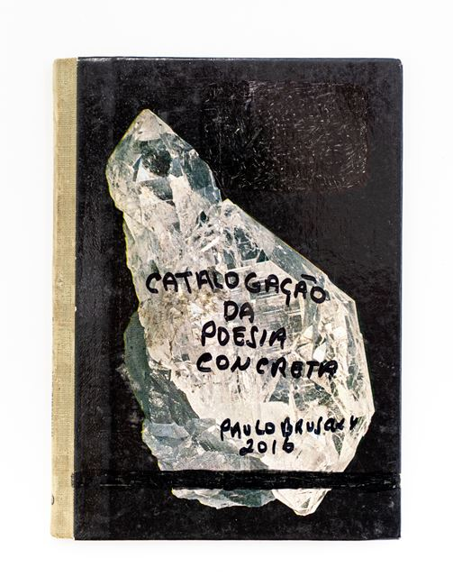 Poesia Concreta Cataloguing by Paulo Bruscky contemporary artwork