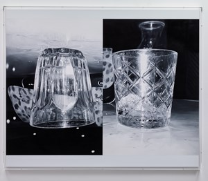 Double Glass by James White contemporary artwork