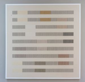 Systematic Arrangment 031 by Andreas Diaz Andersson contemporary artwork