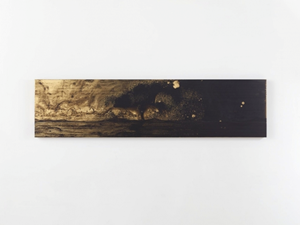 Golden (Scroll 3) by Teresita Fernández contemporary artwork