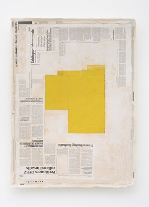Composition with Yellow by Mark Manders contemporary artwork