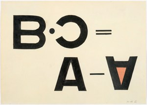 Typo Collage by László Moholy-Nagy contemporary artwork