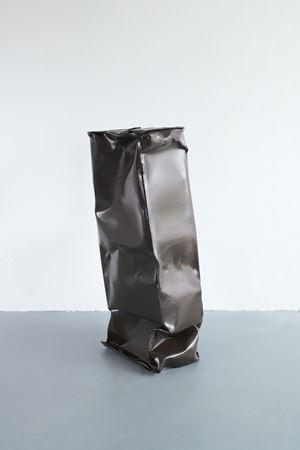 Box - 3 Layers (Umber Brown) by Angela De La Cruz contemporary artwork