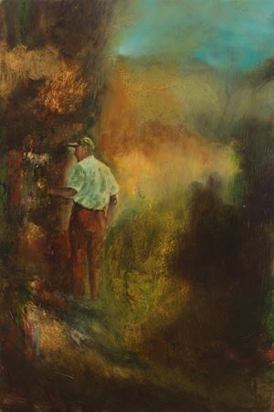 A touch of earthly years by Christopher Orr contemporary artwork painting