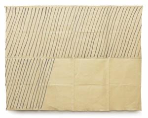 Obliquo by Giorgio Griffa contemporary artwork