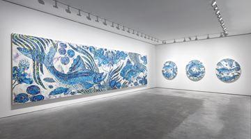 Contemporary art exhibition, Takashi Murakami, Baka at Perrotin, Paris, France