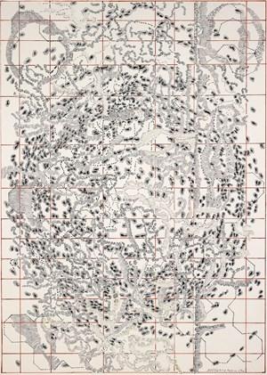 Partitur No. 27a by Dieter Appelt contemporary artwork