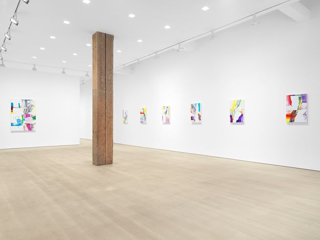 Exhibition view:Pia Fries,farnese,Miles McEnery Gallery, West 22ndStreet, New York (18 February–27 March 2021). Courtesy the artist and Miles McEnery Gallery, New York, NY. Photo: Christopher Burke Studio.