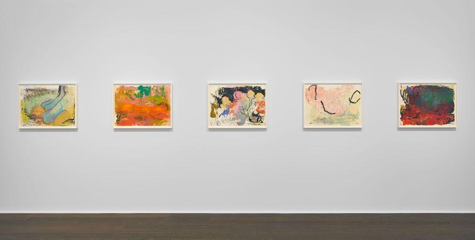 Exhibitionview: Rita Ackermann, Mama '20', Hauser & Wirth, Zürich (12 September–18 December 2020). © Rita Ackermann. Courtesy the artist and Hauser & Wirth. Photo: Jon Etter.