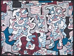 Main leste et rescousse by Jean Dubuffet contemporary artwork