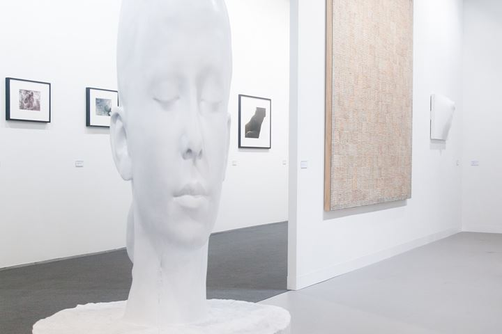 Image: Exhibition view, Galerie Lelong at Art Basel 2016. Photo: © Timothée Chambovet & Ocula.