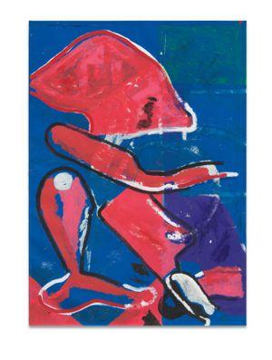 Osh by Joe Bradley contemporary artwork