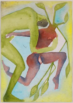 A Story Well Told IV by Francesco Clemente contemporary artwork