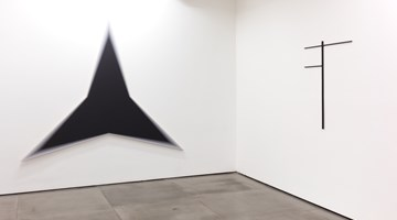 Contemporary art exhibition, Philippe Decrauzat, Circulation at Galeria Nara Roesler, Rio de Janeiro