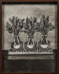 Lilacs by Elad Lassry contemporary artwork works on paper, drawing