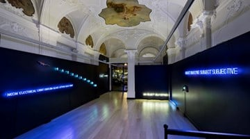 Mazzoleni contemporary art gallery in Turin, Italy