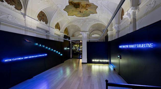 Mazzoleni contemporary art gallery in Turin, Italy