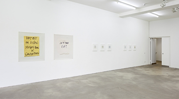 Contemporary art exhibition, Keith Arnatt, Notes at Sprüth Magers, Berlin