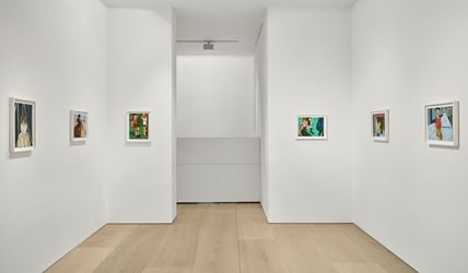Chantal Joffe, Solo Exhibition, 2016, Exhibition view at Victoria Miro, Mayfair, London. Courtesy the Artist and Victoria Miro. © Chantal Joffe