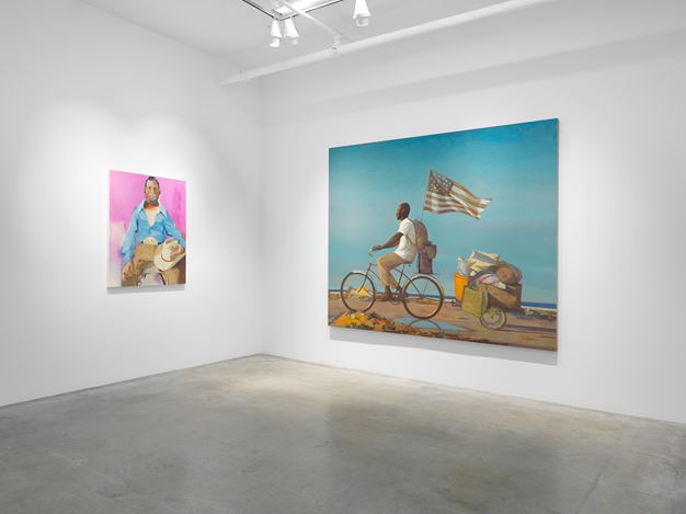 Exhibition view: Group Exhibition, Really, Miles McEnery Gallery, 511 W 22nd Street (15 October–14 November 2020). Courtesy Miles McEnery Gallery.
