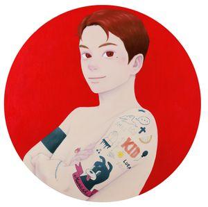 Shining / A Heart Ablaze by Tatsuhito Horikoshi contemporary artwork