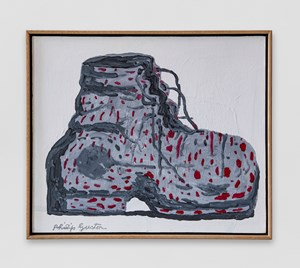 Boot by Philip Guston contemporary artwork
