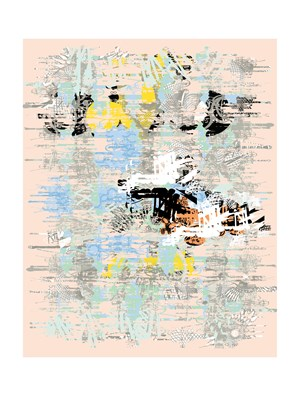 4-fold landscape L 140 by Sang Nam Lee contemporary artwork