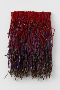 Flores #16 [Flowers #16] by Olga de Amaral contemporary artwork sculpture