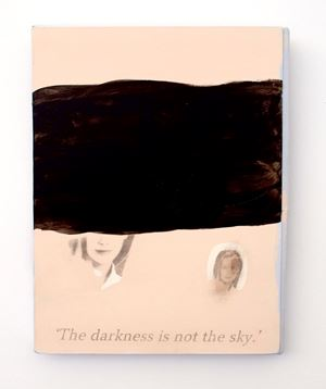 The Darkness is not the sky by Lee Kit contemporary artwork