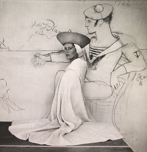 Madame Denise Bourdet by Cecil Beaton contemporary artwork