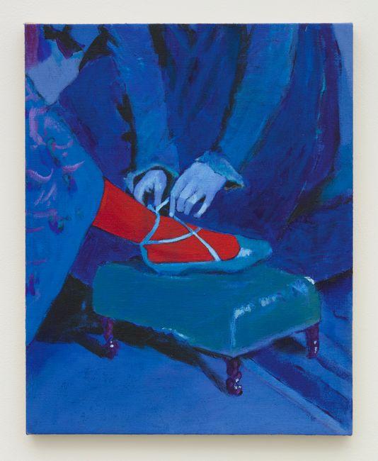 Blue Tie by Joshua Petker contemporary artwork