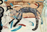 Bad Dog by Tang Jo-Hung contemporary artwork painting