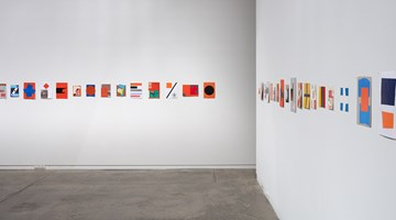 Contemporary art exhibition, John Nixon, Collages: Selected works at Two Rooms, Auckland
