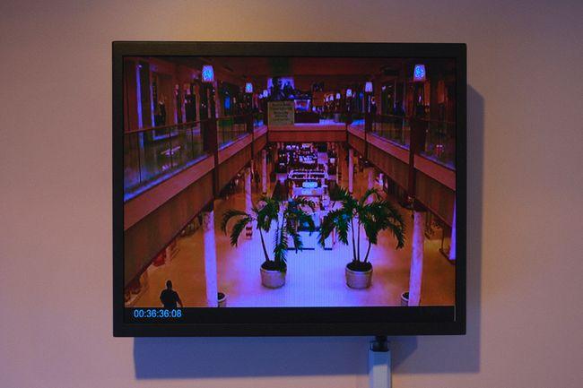 Mall Scenes 1-11 by Louis Nixon contemporary artwork