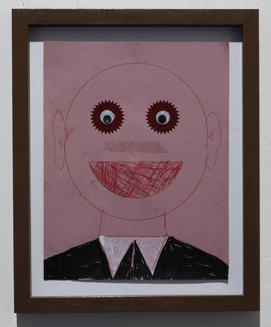 Self portrait #2 by Thomas Zipp contemporary artwork