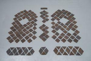 Tumbar la Puerta, Colgar la Reja by Patricia Esquivias contemporary artwork sculpture, installation
