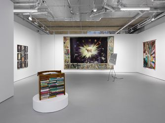 Exhibition view: Group Exhibition, Delights of an Undirected Mind,Lisson Gallery, Cork Street, London (7–28 August 2021). Courtesy Lisson Gallery.