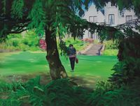 Heading In, Midday, May by Caroline Walker contemporary artwork painting