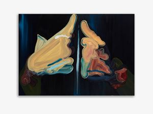 Splint by Clare Woods contemporary artwork painting