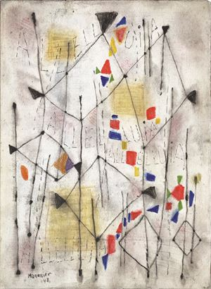 Alleluia by Alfred Manessier contemporary artwork