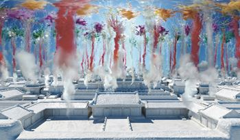 Cai Guo-Qiang Explodes Fireworks Over VR Forbidden City