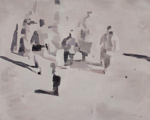 Event (1) 事件 (1) by Mou Huan contemporary artwork