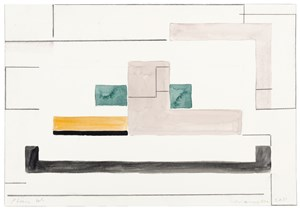 Plan W by Ernst Caramelle contemporary artwork