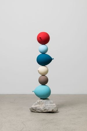 Untitled (Short People) – 6 balloons by Gimhongsok contemporary artwork