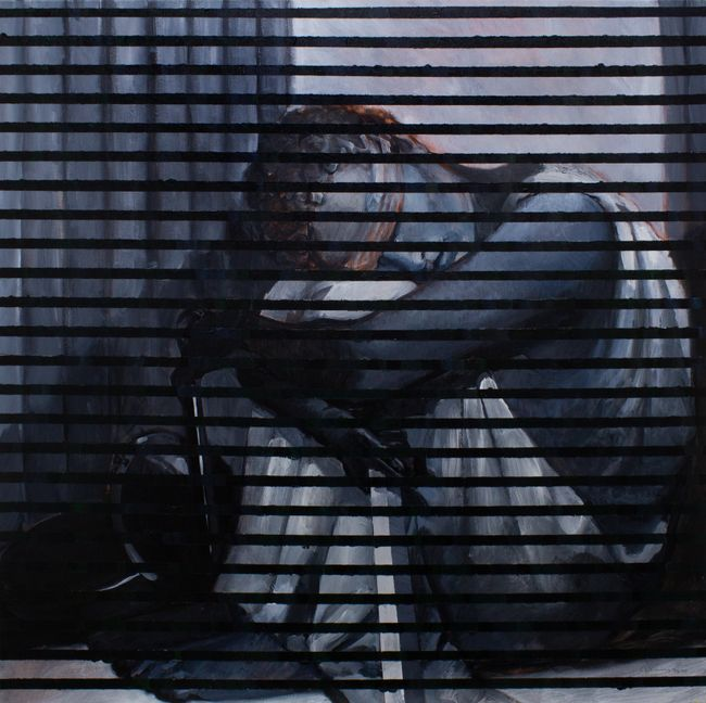 BLINDS: Lamenting Themis by Chandraguptha Thenuwara contemporary artwork