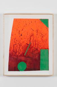 DRFTRS(5033) by Sterling Ruby contemporary artwork works on paper