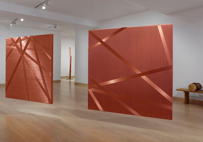 Exhibition view: Alice Anderson,Body Disruptions, Waddington Custot, London (12 March–10 May 2019). Courtesy Waddington Custot