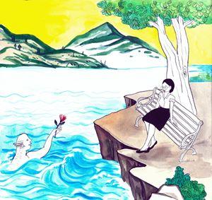 Anti-mosquito bag by Ni Jui Hung contemporary artwork