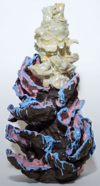 Bloom II by Mira Makai contemporary artwork sculpture