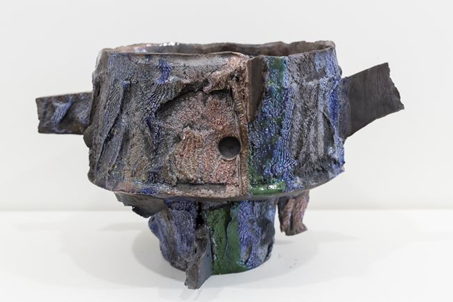 Awa vessel by Tracy Keith contemporary artwork